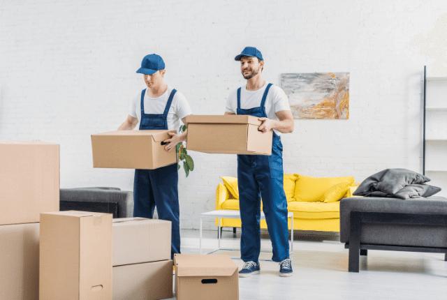 מובילים קרטונים לדירה